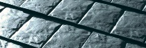 Stonecrest slate metal shingles