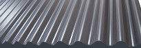 Corrugated metal panels