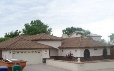 Metal Tile Roofing System Brightens Home's Appearance