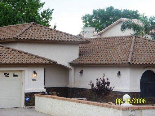 Stone Coated Metal Tile Roof Beautifies Home