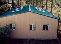 Multipurpose panels can be used for roofing or siding
