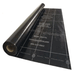 Metal roofing synthetic underlayment