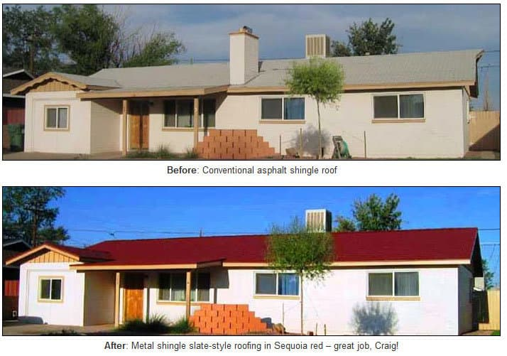 Before and After Shingles