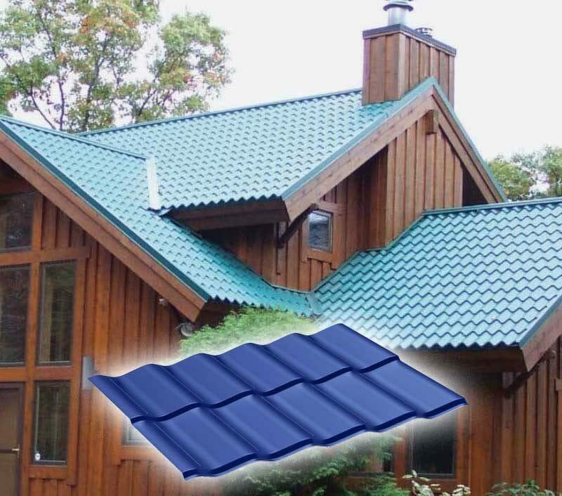 Met Tile Roofing Panels Ceramic Tile Look With Metal Quality