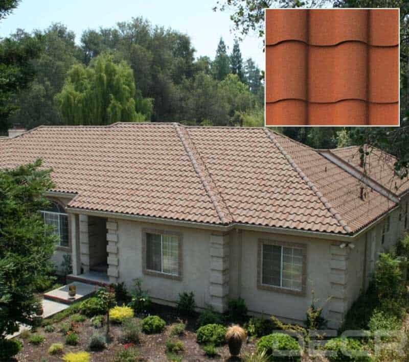Metal Shingle Product Villa Tile