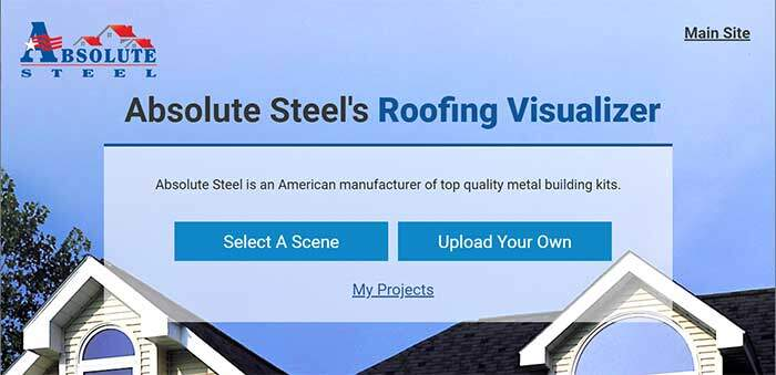Metal Roofing Visualizer