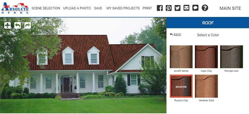 HOA House roofing visualizer