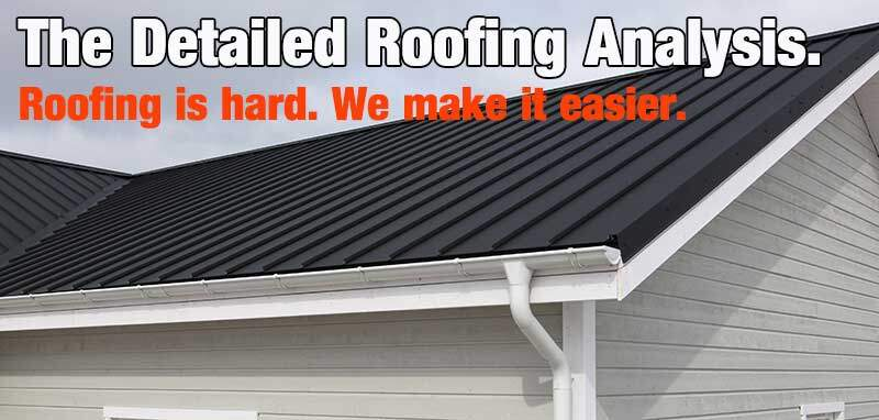 Roofing analysis