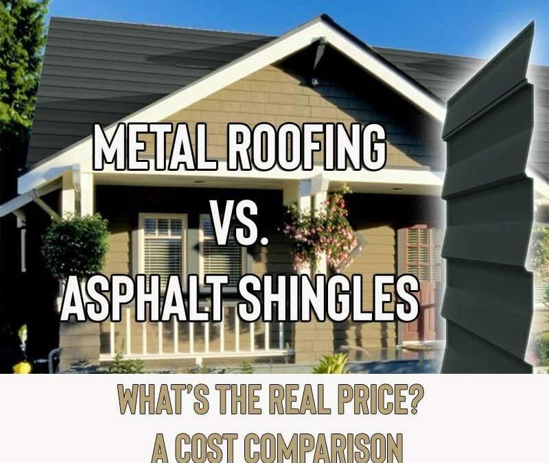 Metal Roof vs. Shingles – Cost Comparison (2021)